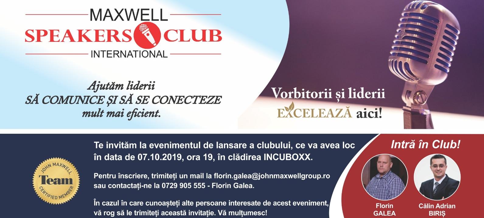 Maxwell Speakers Club International [JMT]