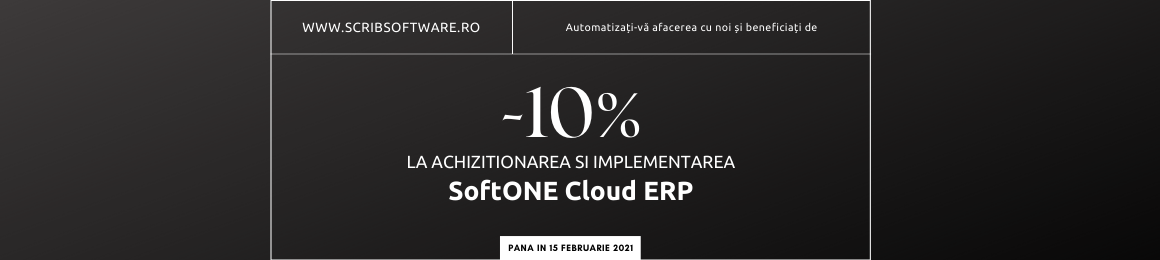 Soft1 ERP&CRM 10% off
